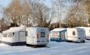 Зимний караванинг в России